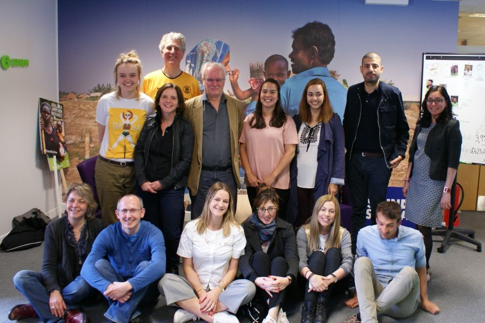 61/5000<br />A team of project coordinators from Great Britain, Italy, Cyprus and Poland at Oxfam GB headquarter. It was a great meeting!