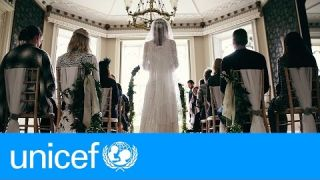 A storybook wedding - except for one thing   UNICEF